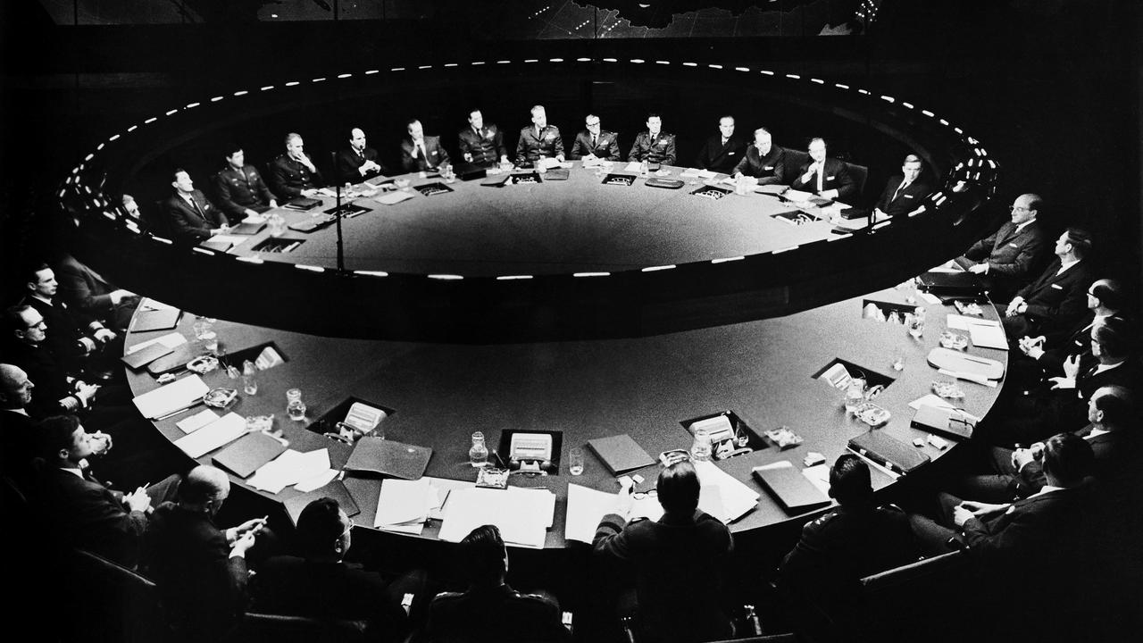 Dr. Strangelove or: How I Learned to Stop Worrying and Love the Bomb (1964), photo: promo materials