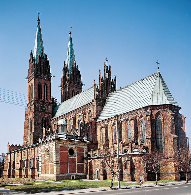 The Włocławek Cathedral, photo: M.Kowalewski / Forum