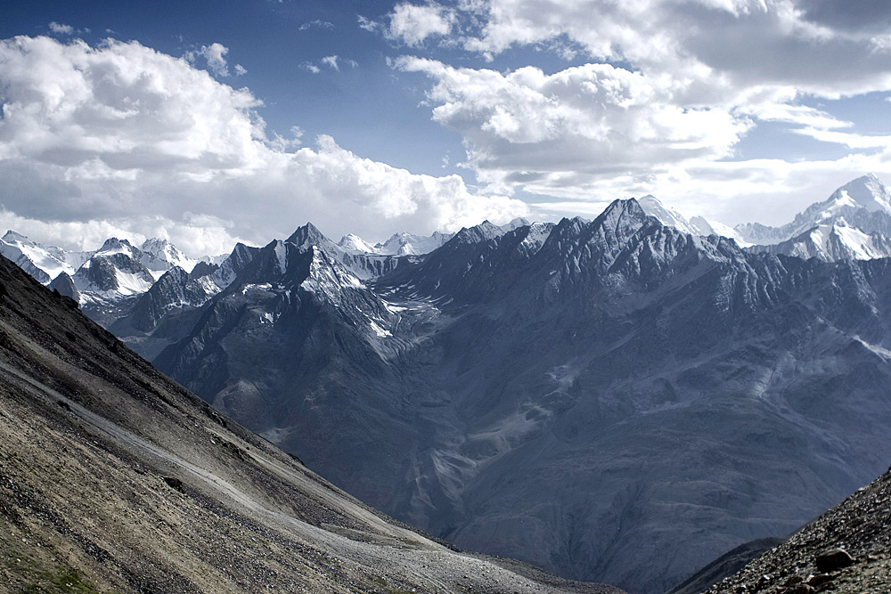 The Pamir Mountains, photo: Bartek Tofel/Forum