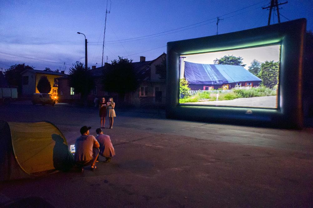Small film festival in Krasnosielc, 2014, photo: Sławomir Olzacki/Forum