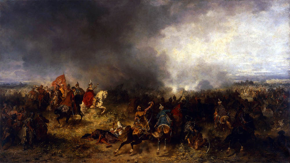 Józef Brandt, Battle of Khotyn (1621), photo: Wikipedia