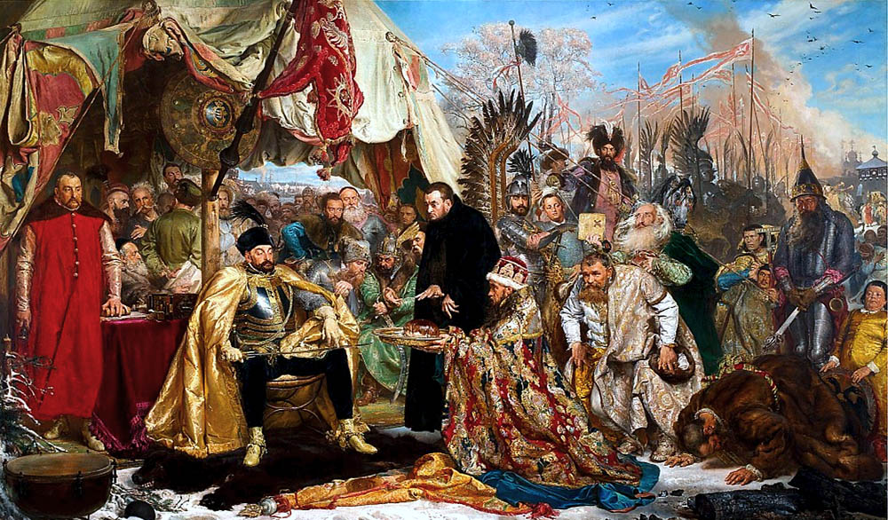 Stephen Báthory at Pskov, Jan Matejko, photo: Wikipedia