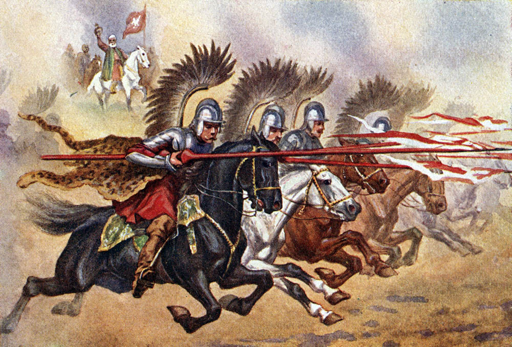 The hussars winning the Battle of Kircholm, photo: FoKa / Forum