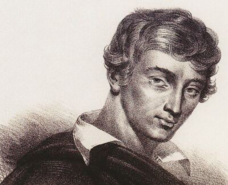 Young Adam Mickiewicz, photo: Wikipedia
