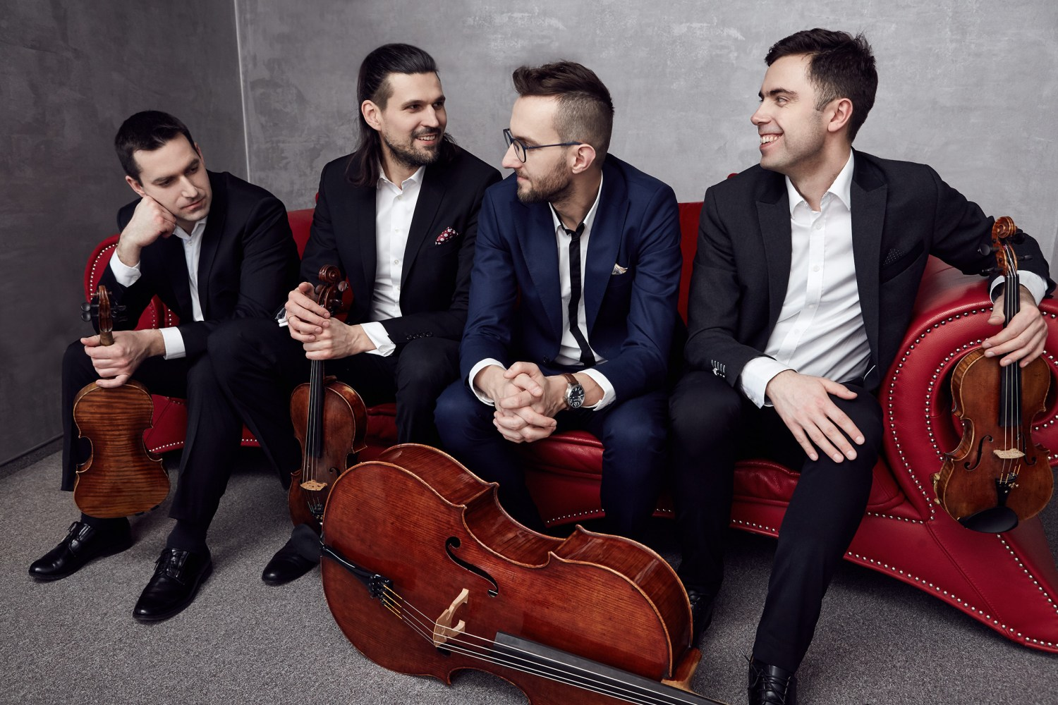 Atom String Quartet, photo: Ivon Wolak/press materials