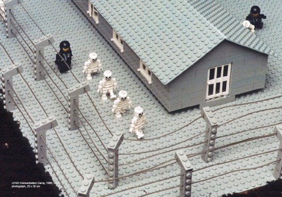 "Zbigniew Libera, ""Lego. Obóz koncentracyjny"" / ""Lego. Concentration Camp"", 1994, Courtesy of the Raster Gallery"