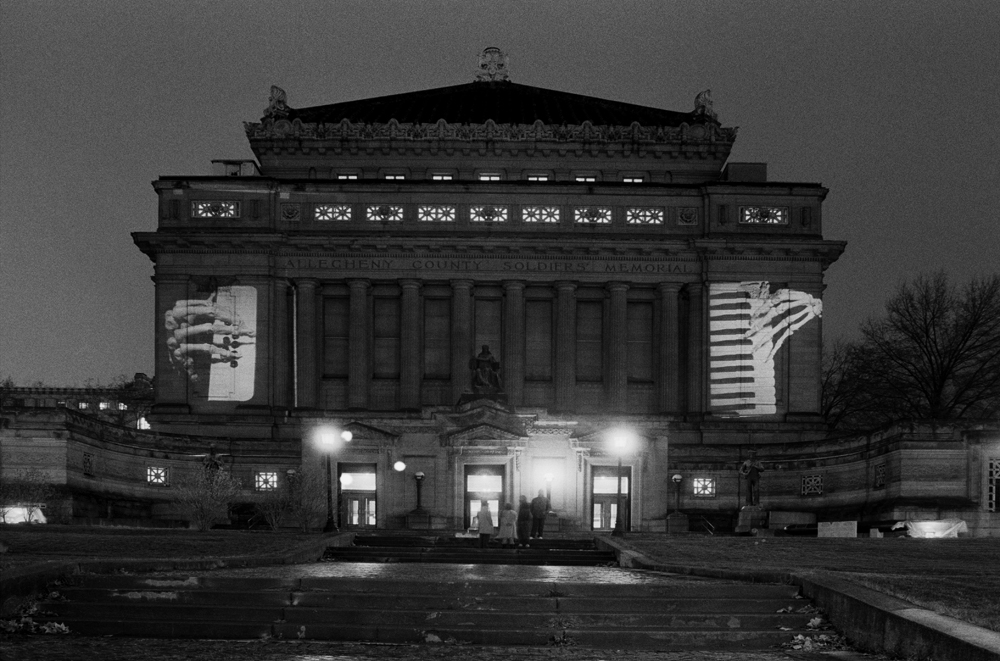 Krzysztof Wodiczko, Allegheny County Memorial Hall, Pittsburgh, 1986, The National Art Gallery in Sopot