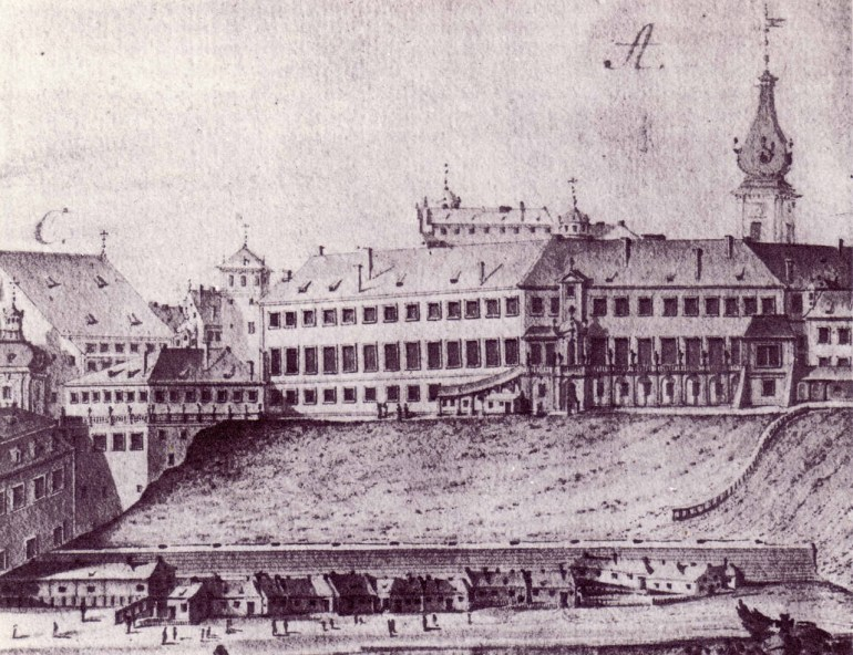 Royal Castle in Warsaw in the 17th century; Photo: Wikimedia/ Pałac w Wilanowie