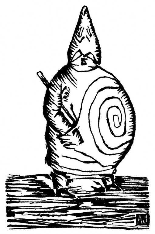 Alfred Jarry's woodcut of Ubu