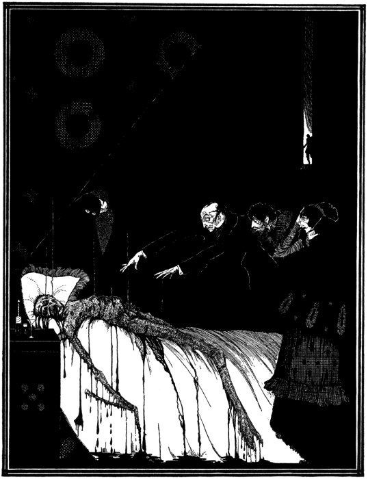 Was M. Valdemar Polish? An illustration to Poe's story by Clarke; Photo: Wikimedia/CC