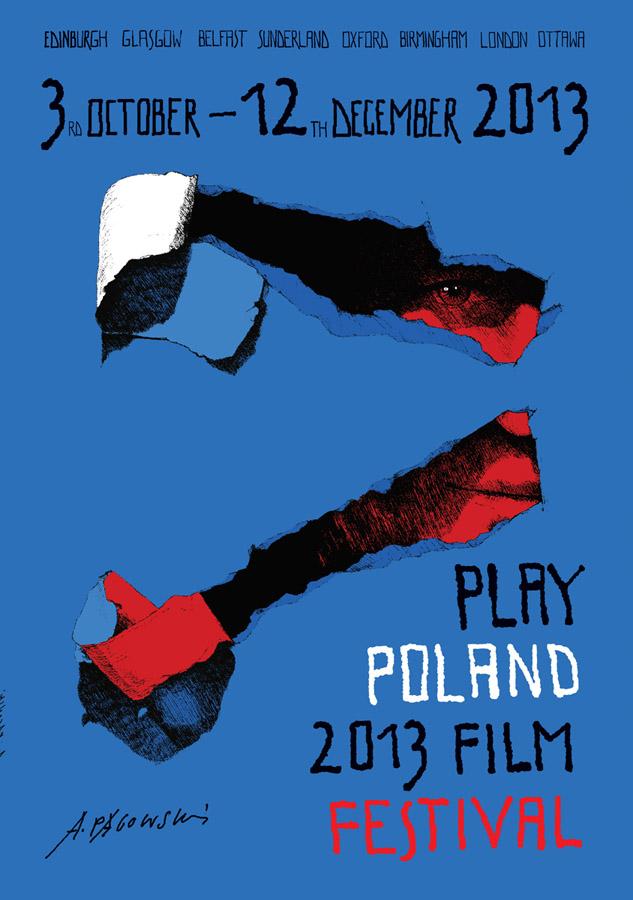 Play Poland Festival Poster by Andrzej Pągowski