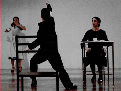 A scene from the Studium Teatrlane performance