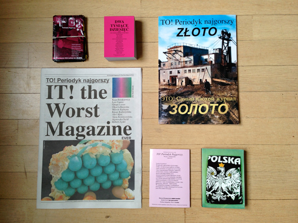 TO! Periodyk Najgorszy, issues 1-6, photo: courtesy of the publisher