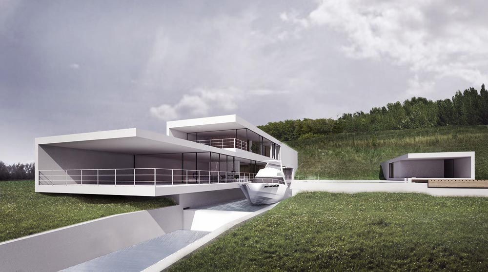 Attractive Yachting House, Project By MOOMOO, Photograph Courtesy Of The Łódź Centre  Of Architecture And Design