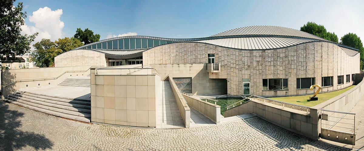 Здание Музея японского искусства и техники Manggha, фото: Рафал Сосин