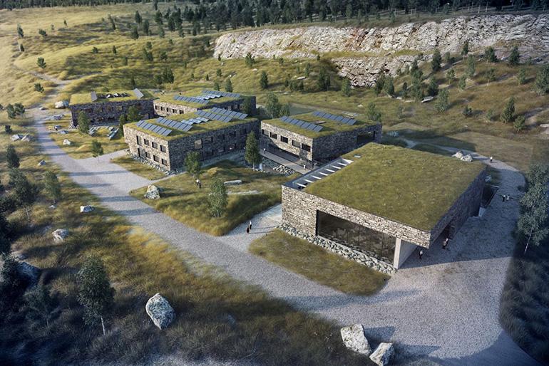 WXCA, wizualizacja projektu Europejskiego Centrum Edukacji Geologicznej, fot. materiały promocyjne pracowni / www.wxca.pl