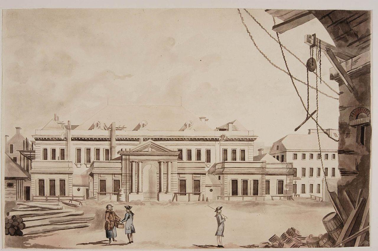 Zygmunt Vogel, Teatr Narodowy na placu Krasińskich w Warszawie, ok. 1791, fot.: wikipedia.org