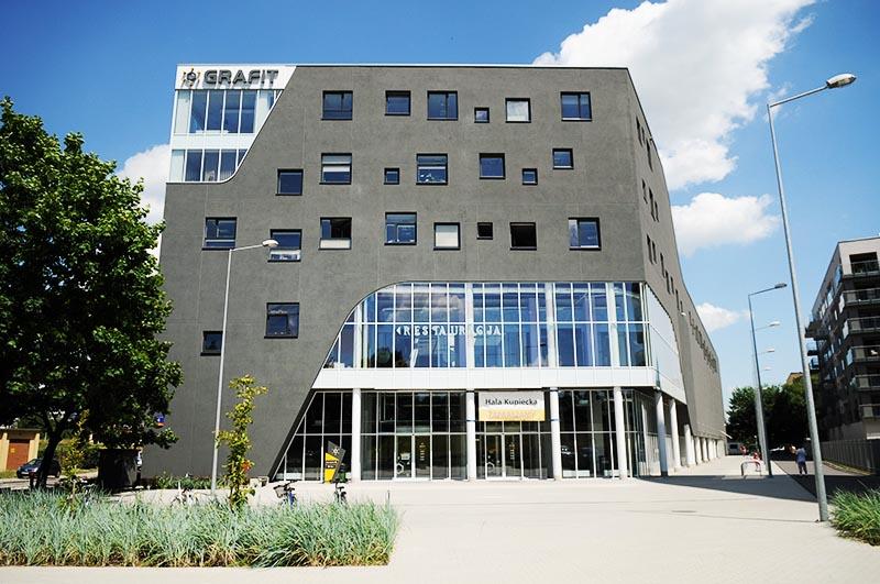 Grafit Library in Wrocław, photo:Tomasz Szambelan / AG