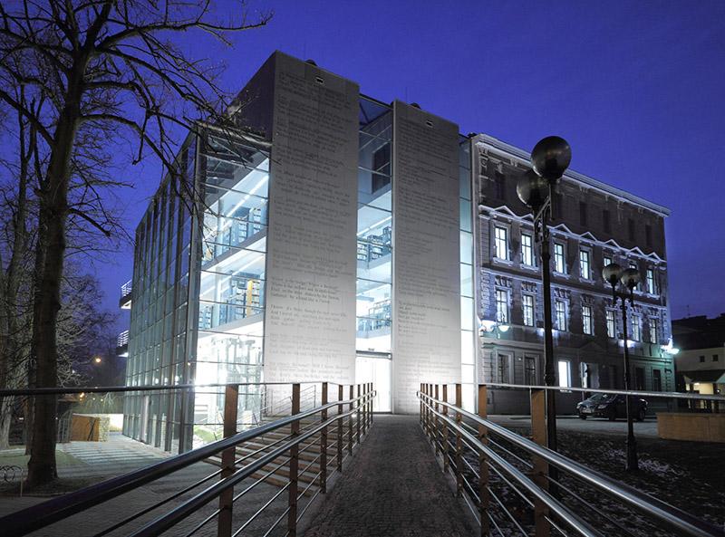 Miejska Biblioteka Publiczna w Opolu, : projekt: Architop (Małgorzata Zatwarnicka, Andrzej Zatwarnicki), fot. materiały prasowe pracowni Architop