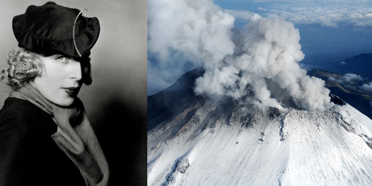 Portret Tamary Łempickiej, Paryż, 1932, rep. IMAGNO /Austrian Archives / Forum, Popocatépetl volcano in Mexico, fot. Xinhua / East News