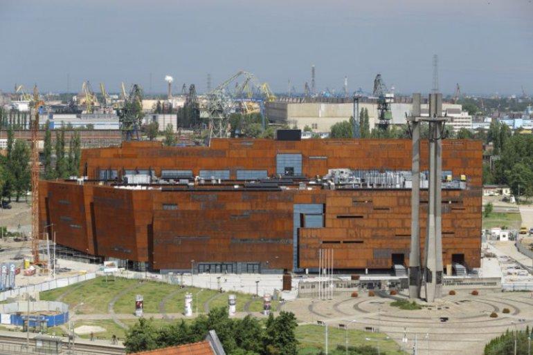 Budowa siedziby Europejskiego Centrum Solidarności, fot. materiały promocyjne ECS