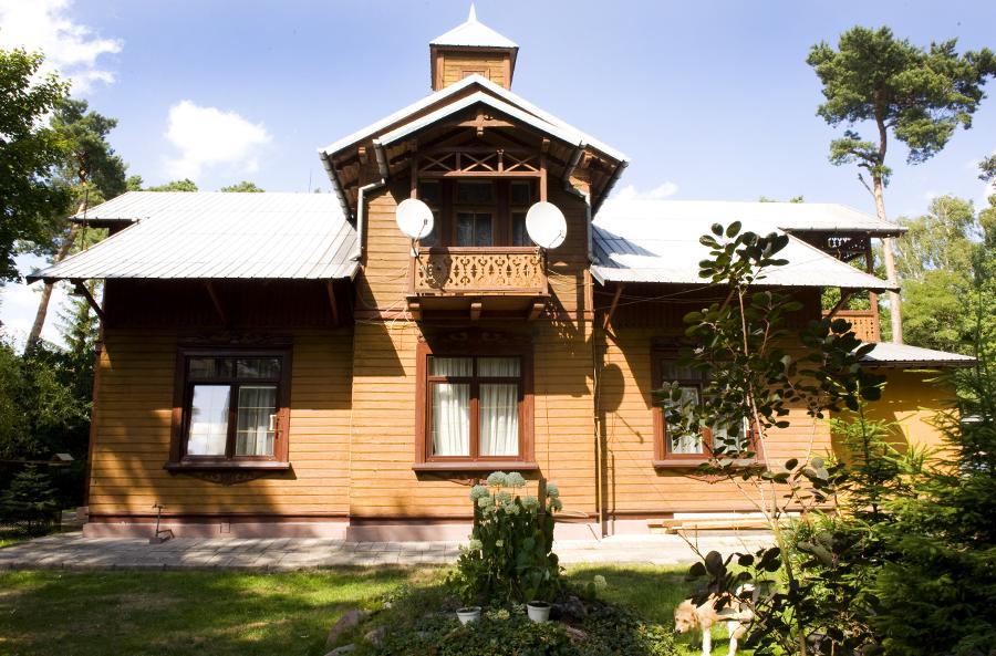 Улица Пруса, дом 13, Отвоцк, дом Касперовича, фото: Дагмара Смольна