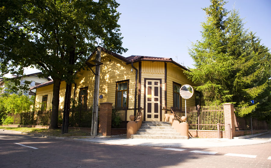 Улица Костюшко, дом 15, Отвоцк, фото: Дагмара Смольна