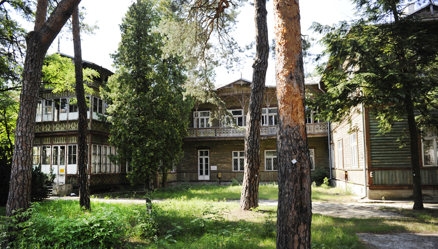 Abram Gurewicz's Sanatorium,Otwock, photo: Dagmara Smolna