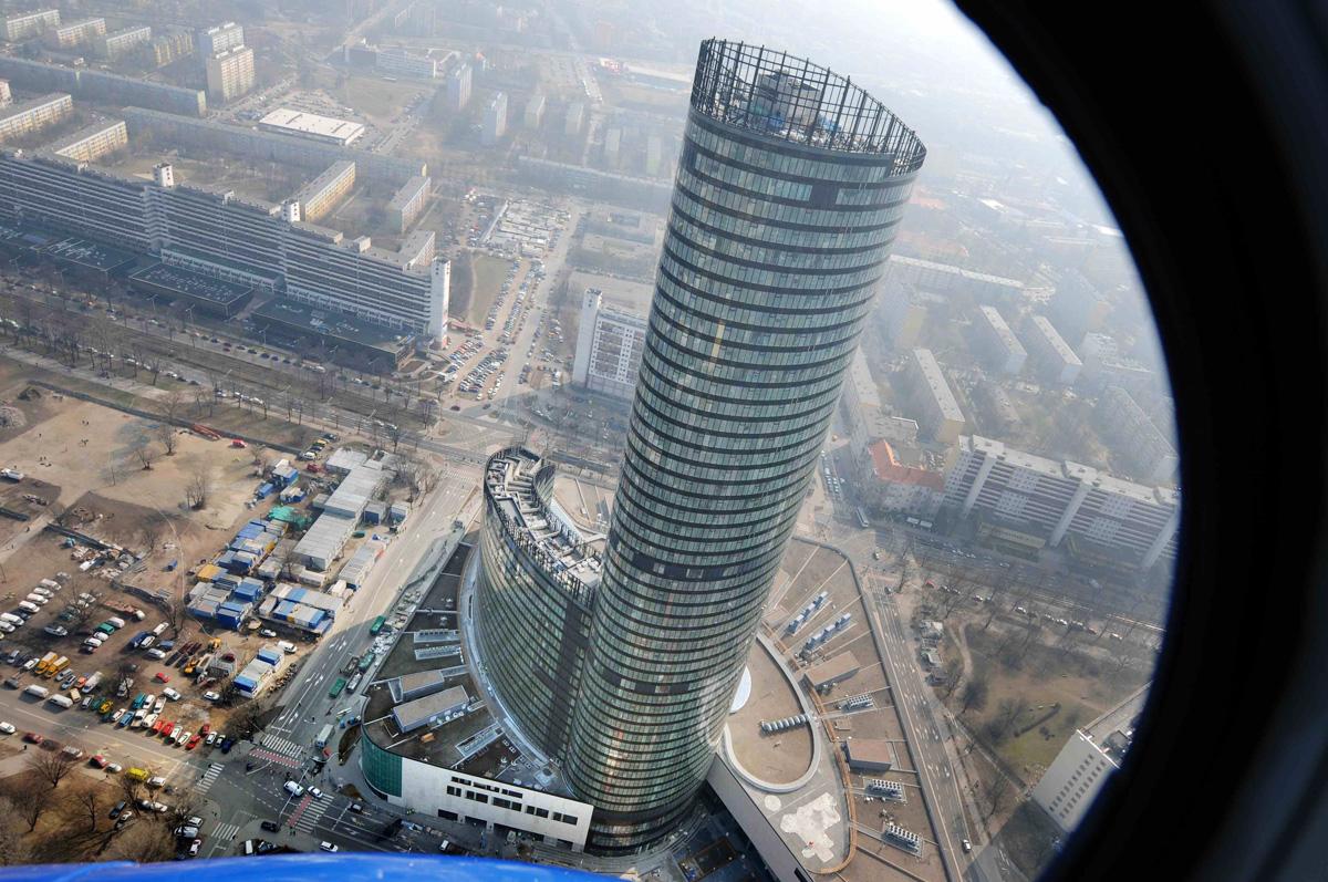 ky Tower we Wrocławiu, fot. Bartlomiej Kudowicz/Forum