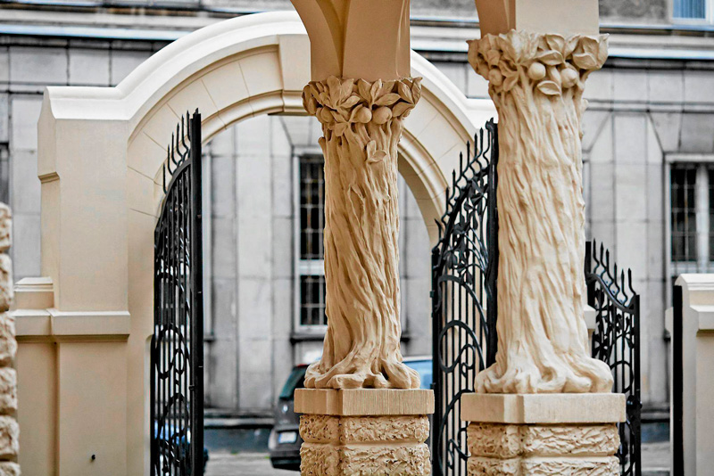 Ornaments of Villa Gallery, photo: Tomasz Stańczak / Agencja Gazeta
