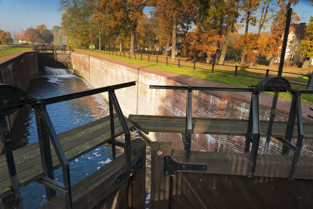 Historic water gate on the old Bydgoszcz canal, photo: Marek Chelminiak/East News