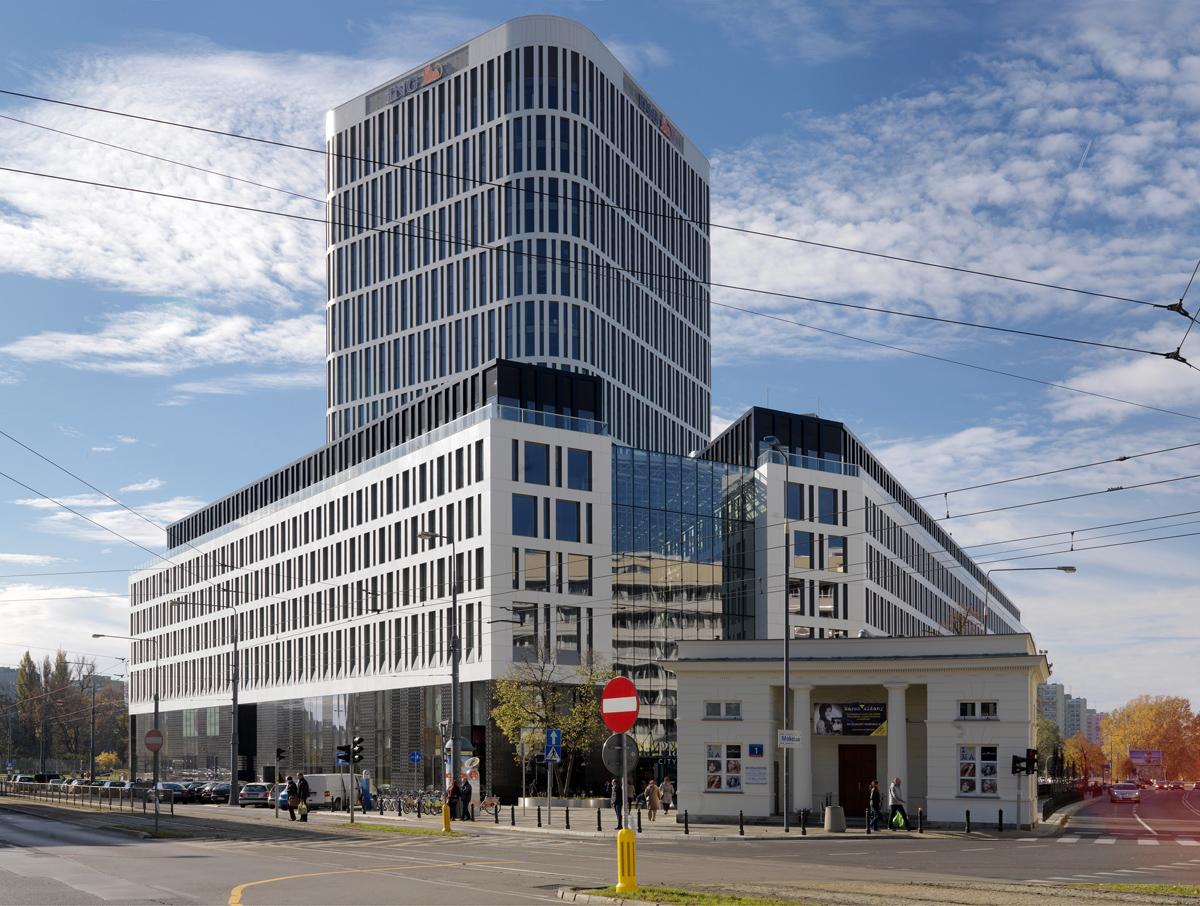 """""""Plac Unii"""". Proj. Kurylowicz & Associates. fot. Wojciech Krynski / Forum"""