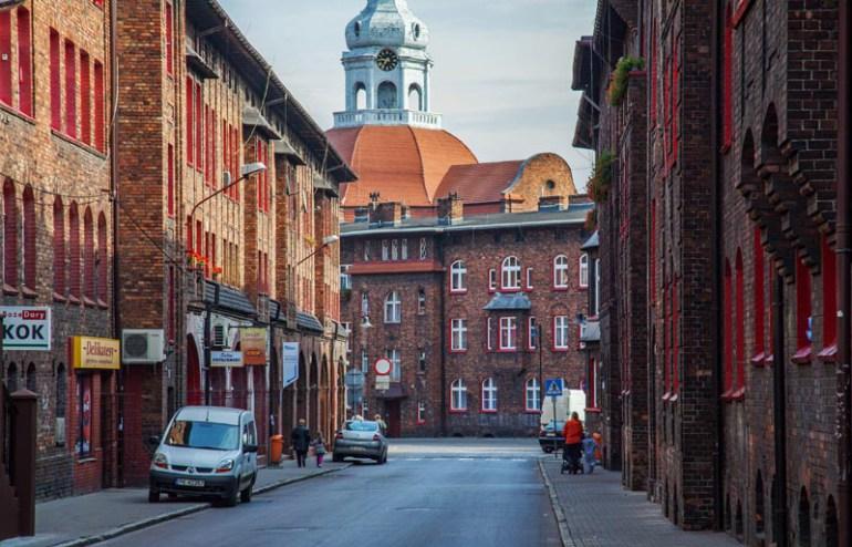 Nikiszowiec, ulica Krawczyka w Katowicach, fot. Wojciech Wojcik / Forum