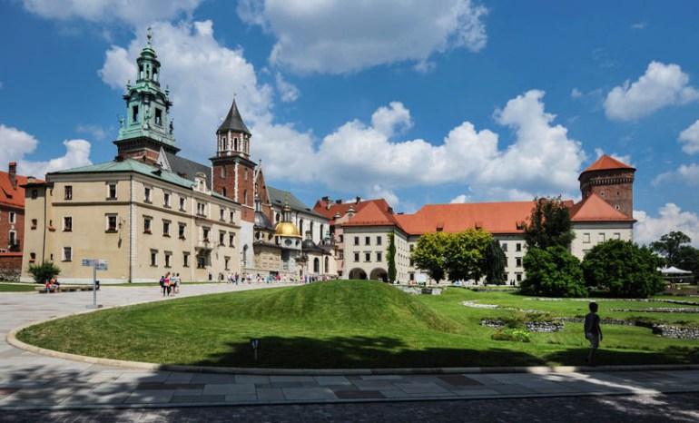 Zamek Królewski z Bazyliką archikatedralna św. Stanisława i św. Wacława na Wawelu, fot. Bartłomiej Kudowicz / Forum