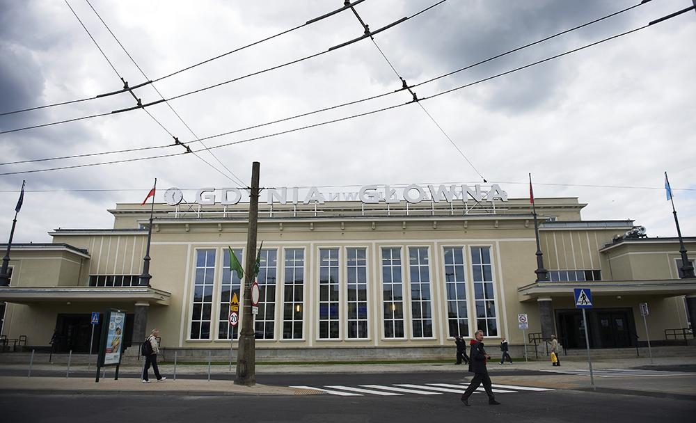 Dworzec kolejowy Gdynia Główna, fot. Adam Warżawa/PAP