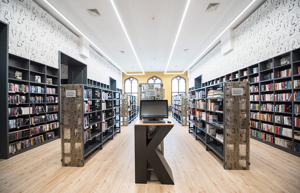 Biblioteka multimedialna, Dworzec Główny we Wrocławiu, fot . Kornelia Głowacka-Wolf/AG