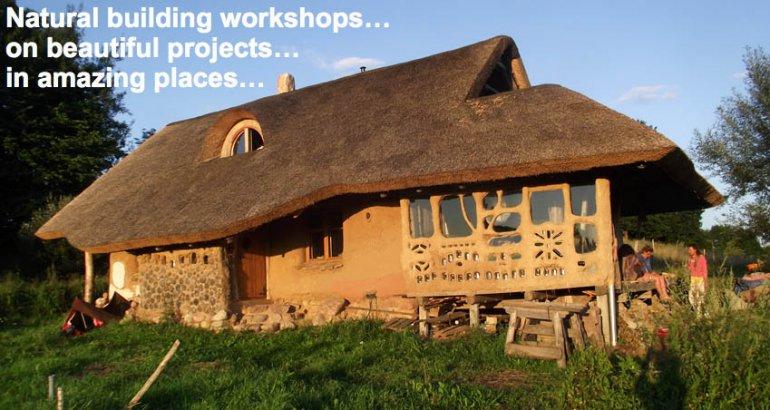 Straw Bale House at Lake Hancza, Poland, photo: oficial site of Paulina Wojciechowska, earthhandsandhouses.org