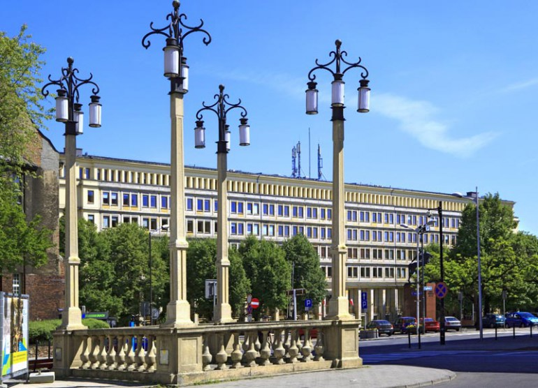 District Board of Labour Unions Building, Katowice, photo: Marek Maruszak / Forum