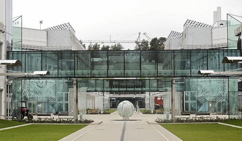 Campus of the University of Białystok,  Institute of Biology and Professor Andrzej Myrcha Memorial University Centre of Life Sciences, photo: Marcin Onufryjuk / AG