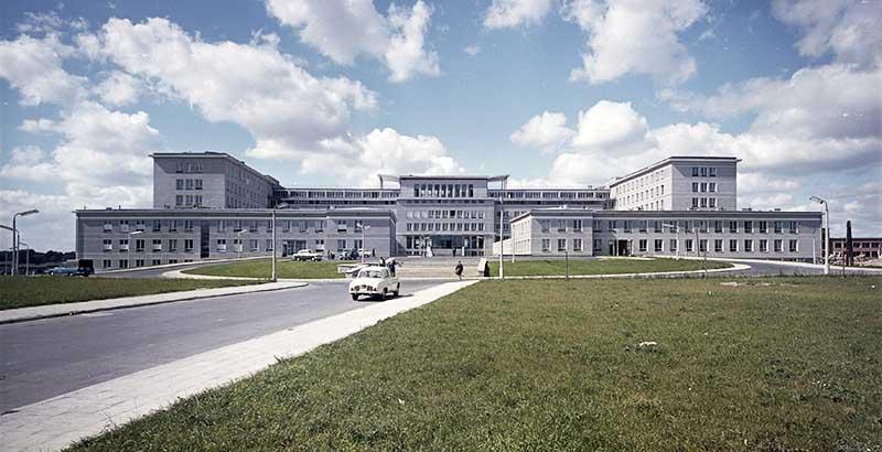 Campus of the Maria Curie Skłodowska University in Lublin, 1968. Photo:  Zbyszko Siemaszko / Forum