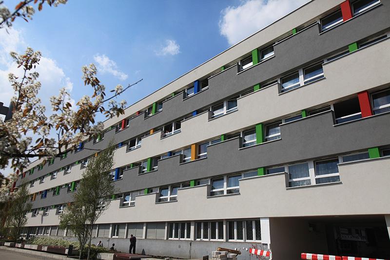 'Parawanowiec' dormitory designed in 1965 by Krystyna and Marian Barski, photo:  Mieczysław Michalak / AG