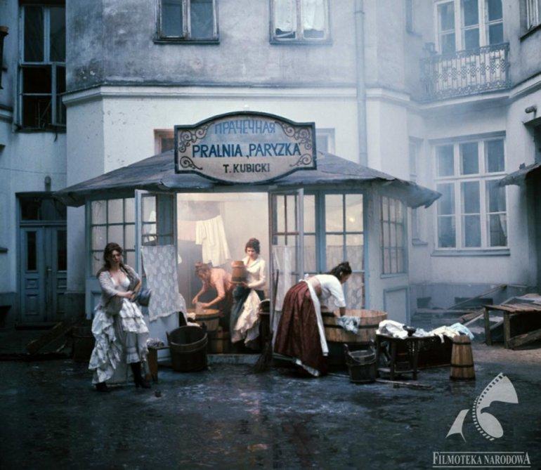 """""""Lalka / The Doll,"""", dir. Ryszard Ber, 1977, photo: Roman Sumik, Filmoteka Narodowa / www.fototeka.fn.org.pl"""