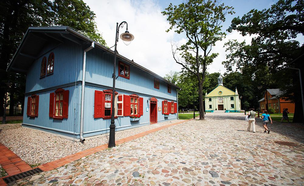 Skansen Łódzkiej Architektury Drewnianej, fot. Marcin Stępień/AG
