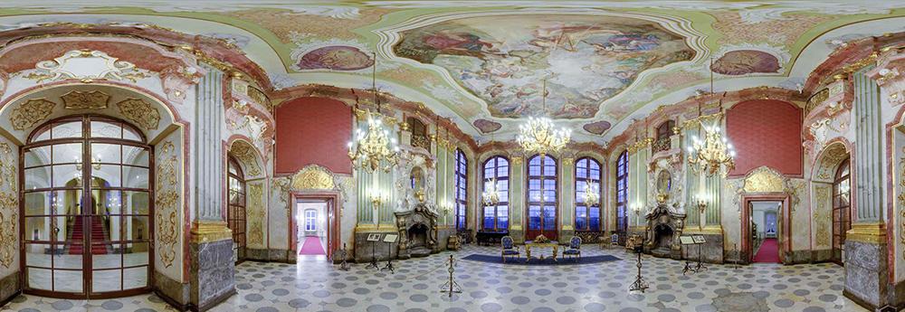 Książ Castle, Wałbrzych, Maximilian's Hall, photo: wirtualnykraj.pl