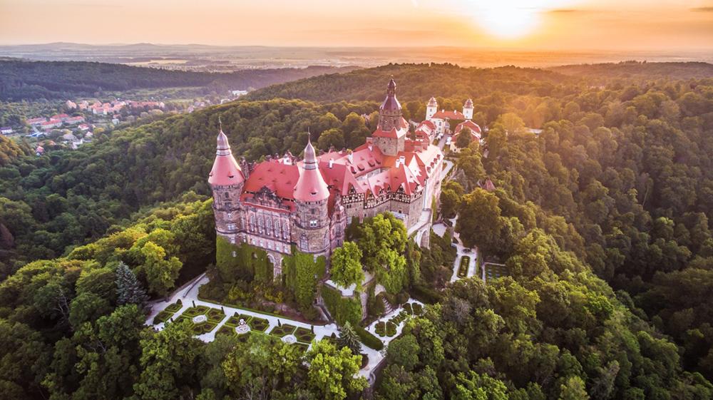 Książ Castle in Wałbrzych, photo: Kamil Cieliński/Książ Castle materials
