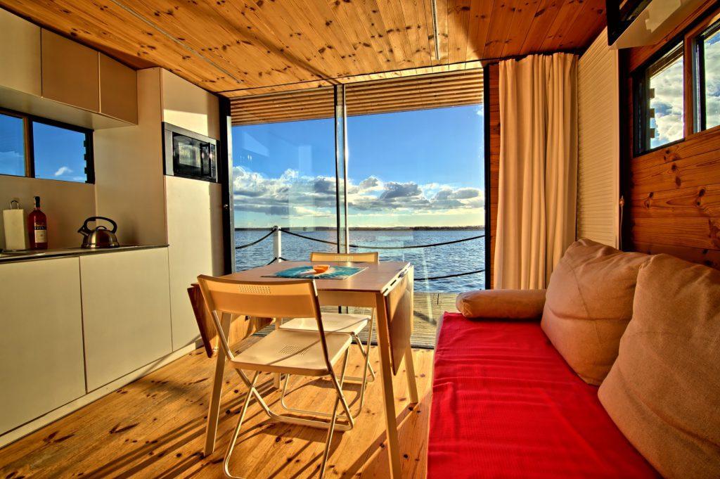 HT Houseboats, Mielno, fot. materiały prasowe hotelu