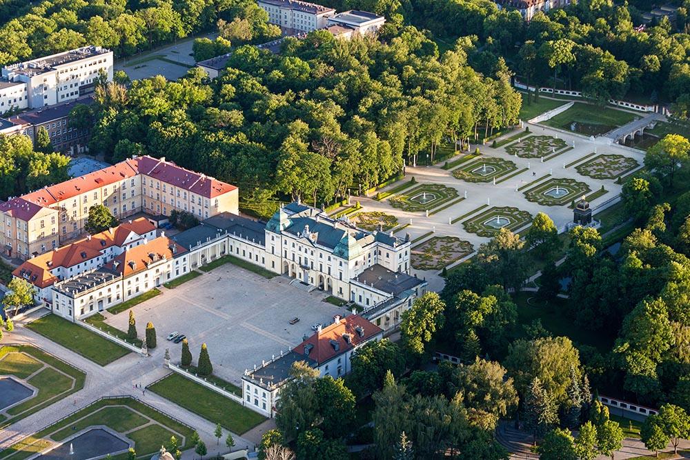 Ogrody pałacowe Branickich w Białymstoku, fot. Wojciech Wojcik/Forum