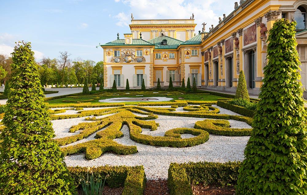 Ogród pałacowy w Wilanowie, fot. Wojciech Wojcik/Forum