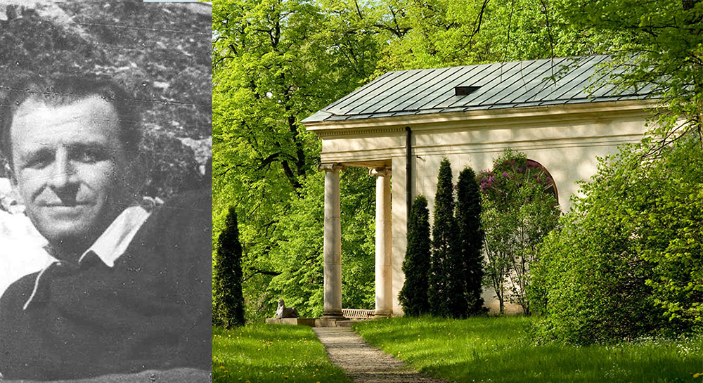 Gerard Ciołek, 1950, Arkadia Park, Gmina Nieborów, fot. Olga Gajewska/Alamy Stock/PAP, fot. archiwum rodzinne/www.ciolek.com