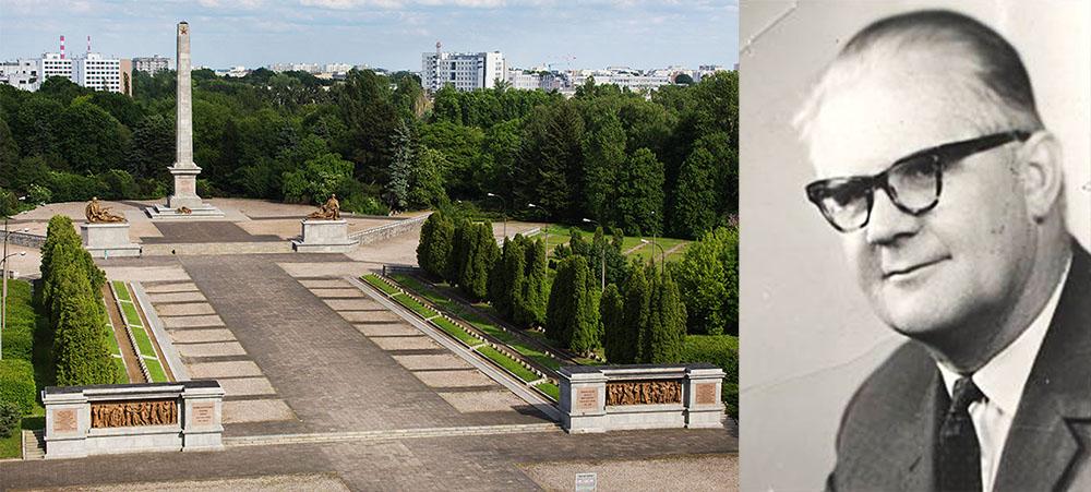 Władysław Niemirski Cmentarz Mauzoleum Żołnierzy Radzieckich przy ul. Żwirki i Wigury/Forum, Władysław Niemirski, fot. SPAK
